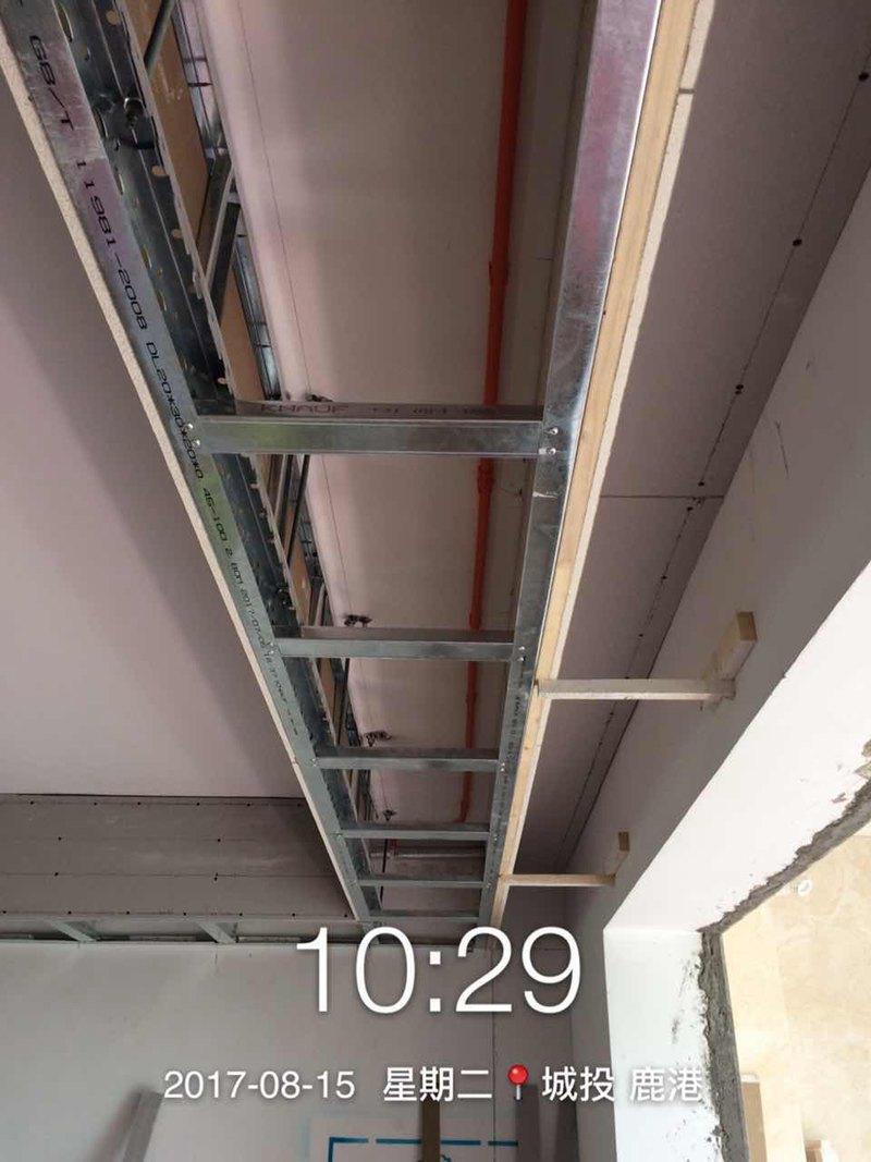 城投鹿港 木工吊顶施工